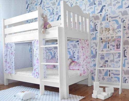 Łóżko dla dwójki dzieci, łóżko piętrowe , łóżko z...