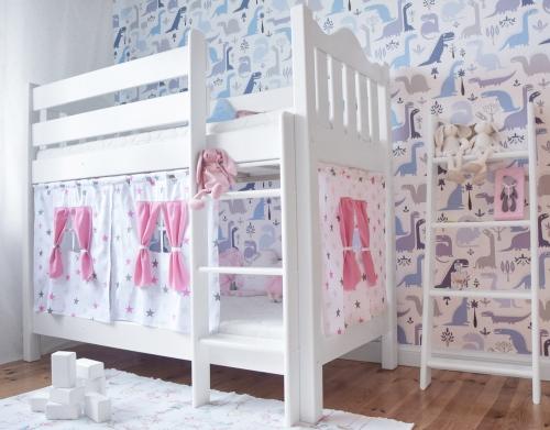 """Łóżko dla dwójki dzieci, piętrowe łóżko  , dwuosobowe """"..."""