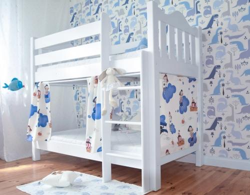 """Łóżko dla dwójki dzieci, piętrowe , dwuosobowe """" NINA"""""""