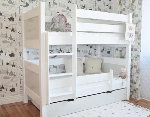 """Piętrowe łóżko dla dzieci , łóżko dwuosobowe """" ROZII """""""