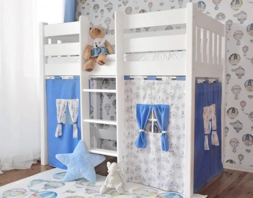 Antresola dla dzieci PROVIA 160 x 80, białe