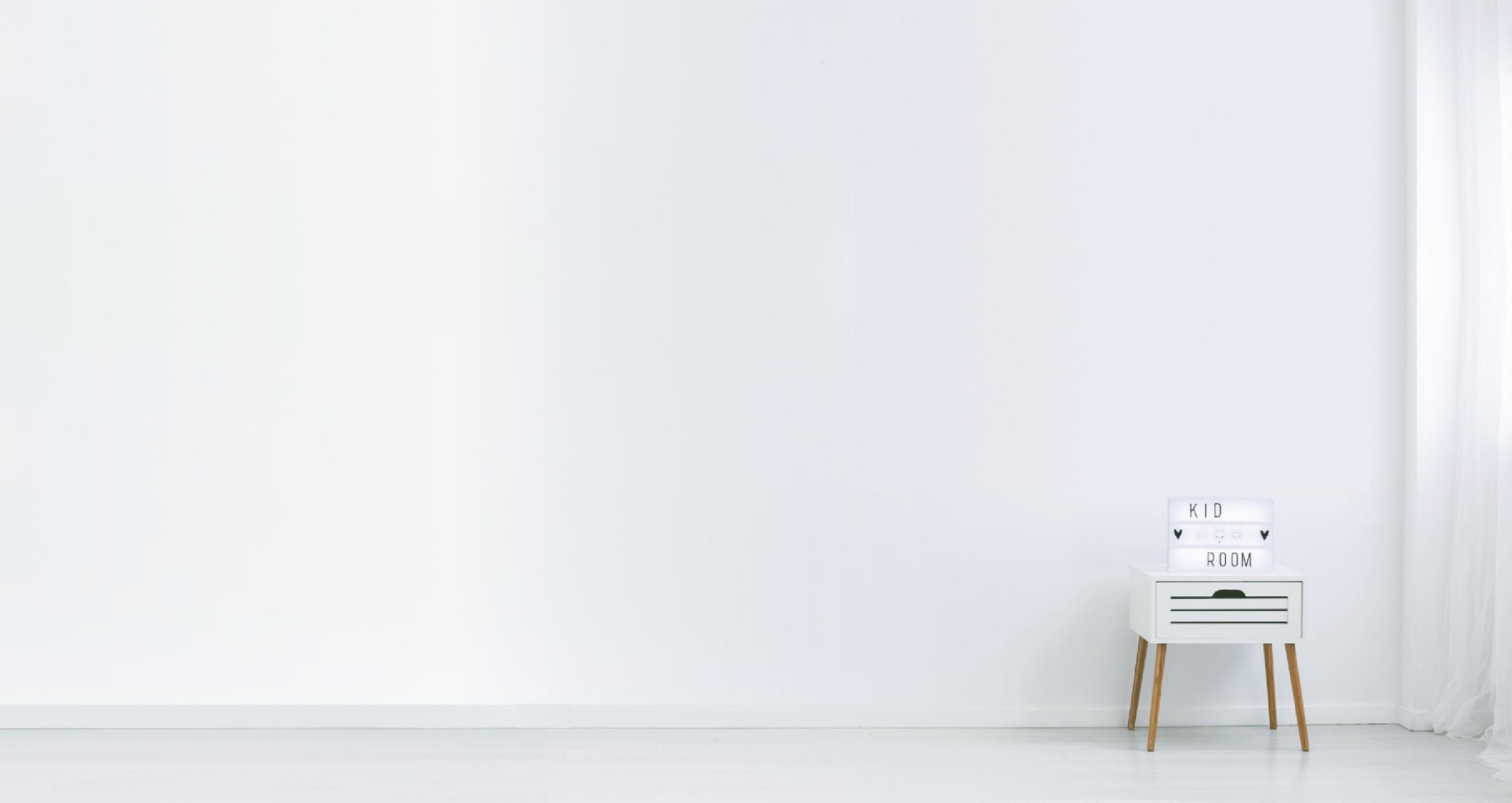 Piętrowe łóżka dla dzieci, białe, drewniane – Sklep Bedlayn